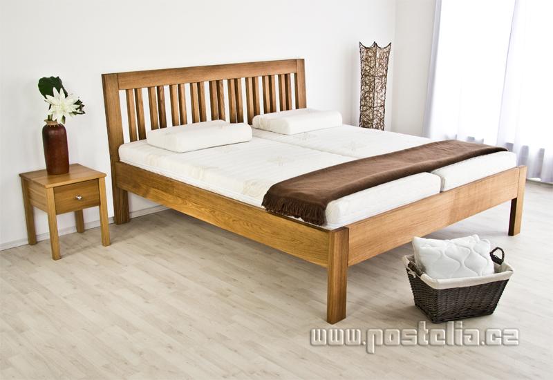 121beac42b57 Dřevěné postele z masivu